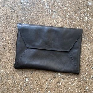 Frank + Oak Leather Clutch